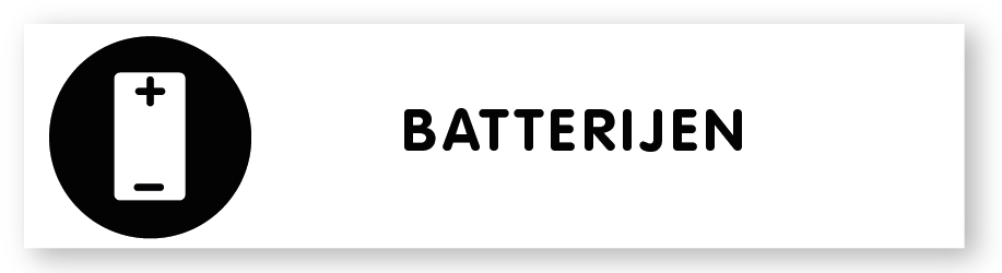 Ga naar categorie 'Batterijen'